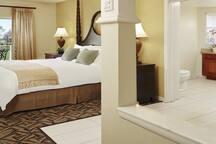 Master Bedroom and Spa Bath
