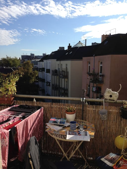 Balkon mit Aussicht