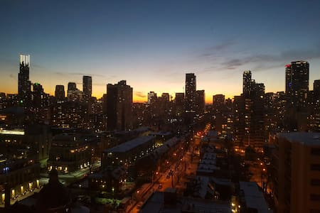 Room With a Stunning Downtown View - Toronto - Byt