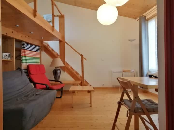 Studio mezzanine  pour séjourner à Rochefort