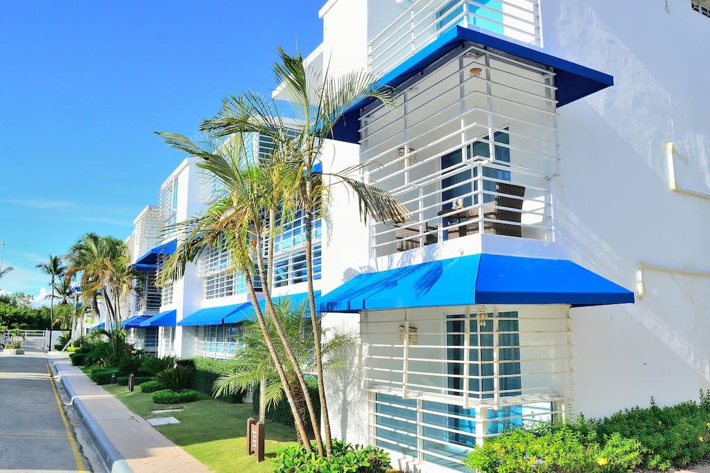 Cozy juan dolio ocean front condo appartamenti in - Asciugatrice in balcone ...