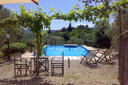 Villa d'epoca con piscina privata - Casciano