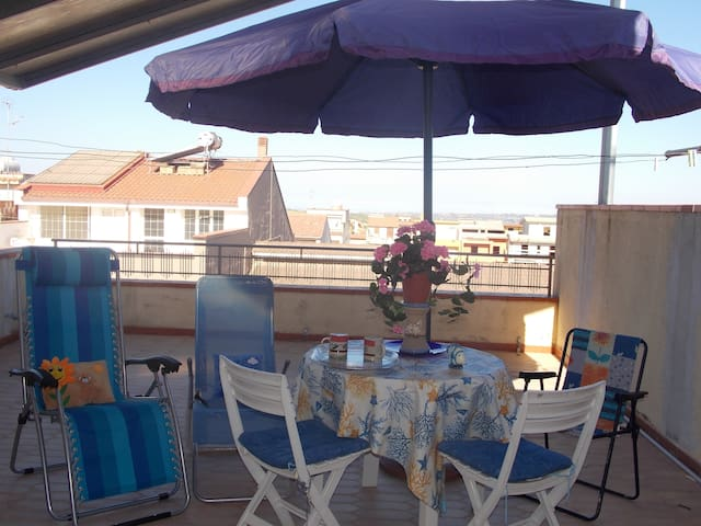 apartment with terrace and panorami - Montevago - Daire
