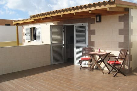 Apartment hostel style with terrace - La Garita - Apartment