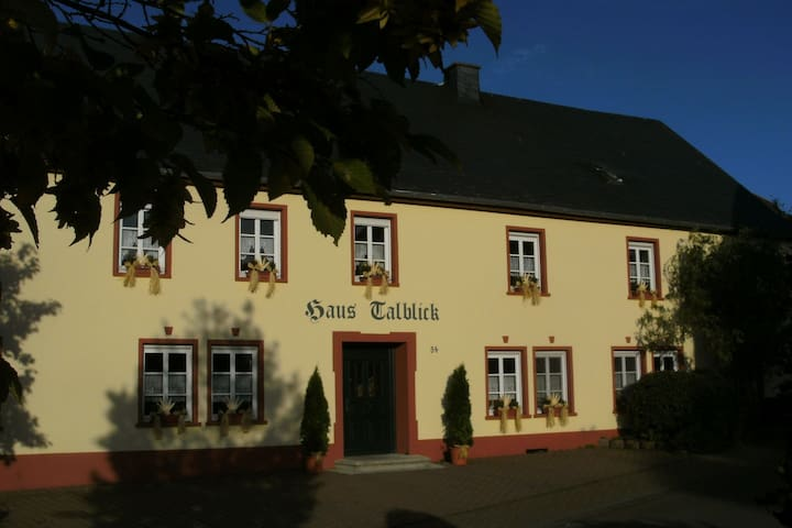 Family-friendly apartments with sun terrace, petting zoo in the Hunsrück