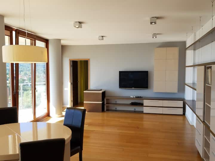100m2 apartament  z dostępem do basenu i sauny