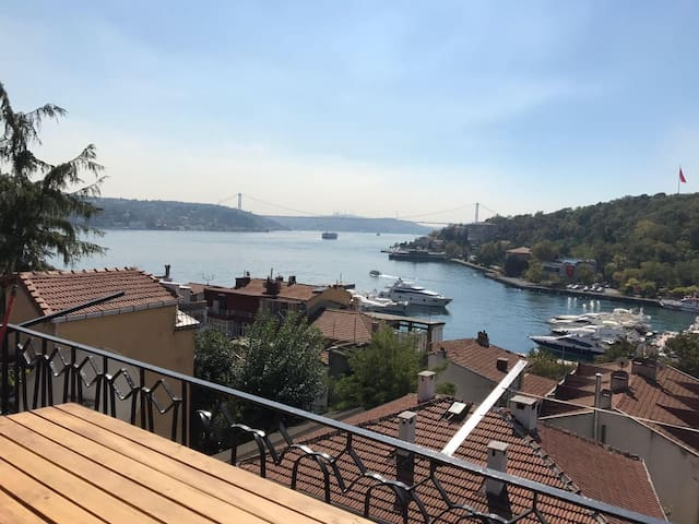 Cozy flat with an amazing bosphorus view - Sarıyer - Daire