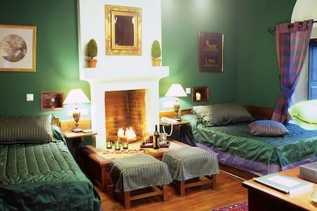 Private room @ Santikos Mansion - Vizitsa - Bed & Breakfast