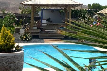 House Garden Lajares 4 pers wifi .. - Lajares