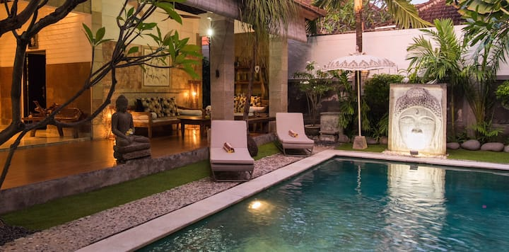 """VILLA BACI""  #1 Seminyak (Long term available)"