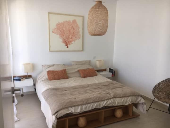 Appartement avec grande terrasse plage de Calvi