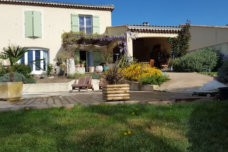 Chambre villa Provence pension complète découverte - Manosque