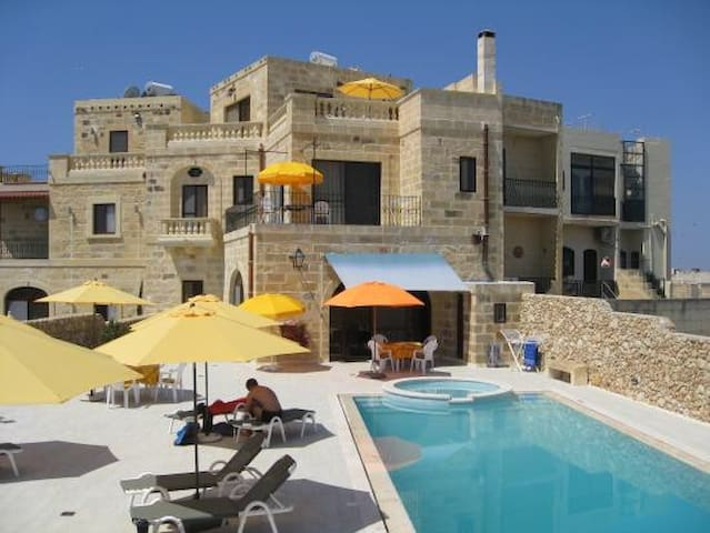 Ensuite Room in Gozo luxury villa