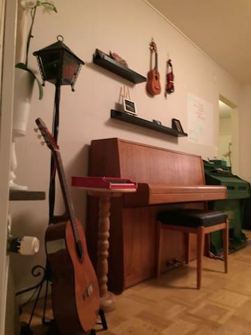 Musicians nest - Gothenburg - Daire