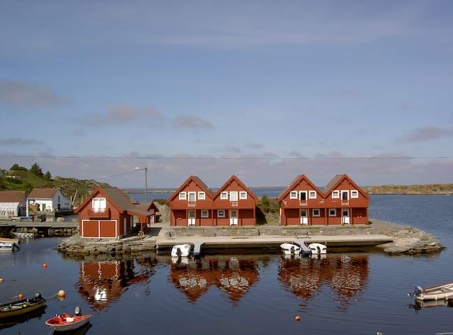 Hedleholmen Feriehytte, Åkrehamn - Åkrehamn - Cottage