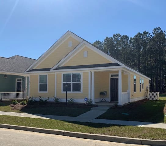 This gorgeous new home close to Charleston