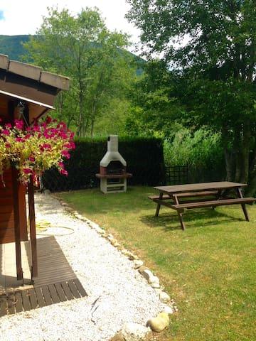Beautiful cabin, La Nubliere, Doussard, Annecy