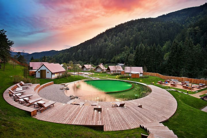 HERBAL GLAMPING RESORT LJUBNO - Ter