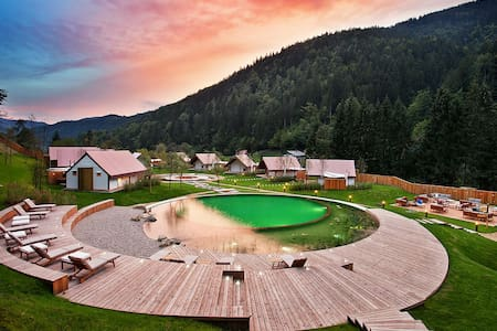HERBAL GLAMPING RESORT LJUBNO - Ter - Telt