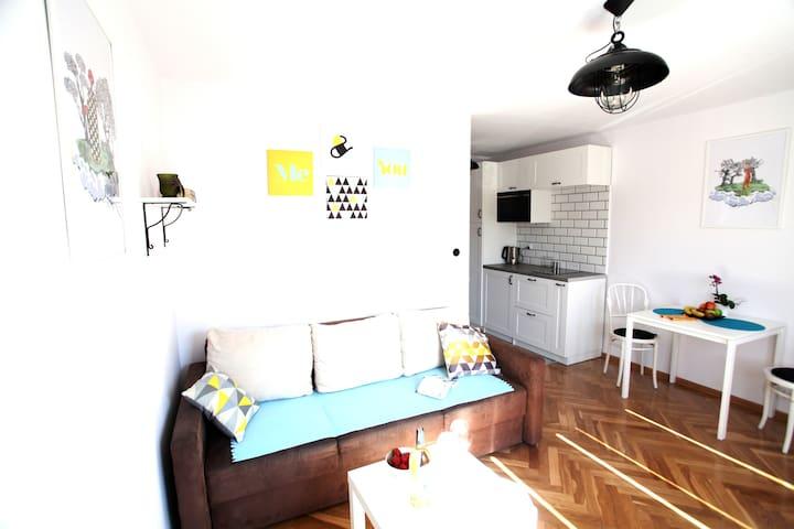 Modern apartment in Gdansk Wrzeszcz - Gdańsk - Daire