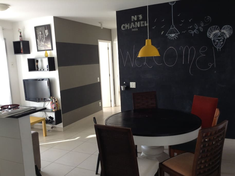 sala/living room/dinner room