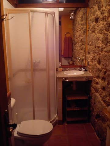 Baño Privado para las habitaciones