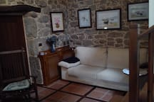 Salón privado para los huéspedes
