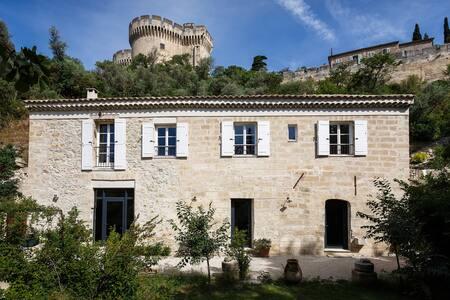XVI°c house with  XXI°c comfort very close Avignon