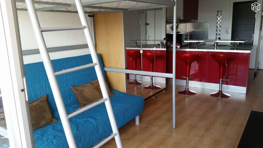 Joli studio à 150 m de la plage - Mauguio - Apartment