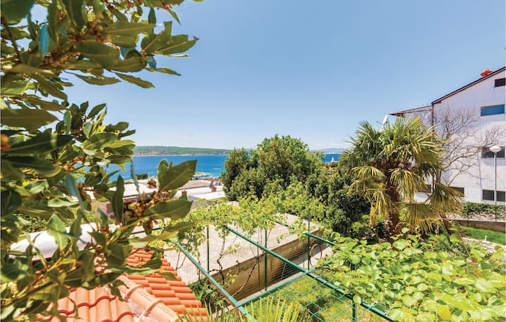 Stunning home in Crikvenica with WiFi and 1 Bedrooms
