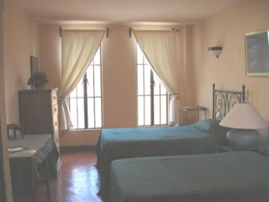 Rooms in San Miguel cooking school