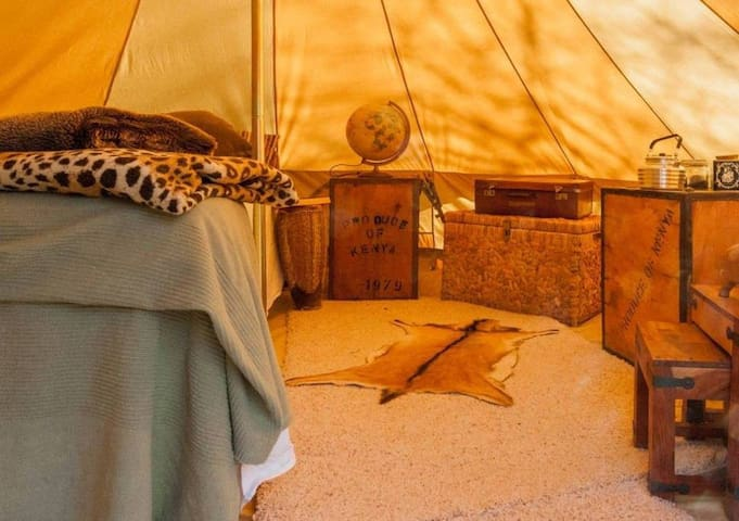 Squirrels Drey - Colonial Camping