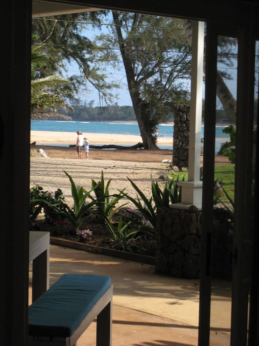 The view of the surf from your bed