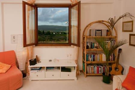 COZY ROOM VIEW 25km SIENA- FLORENCE - Lägenhet