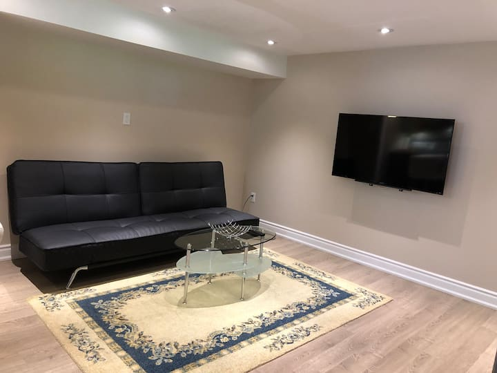 Cozy basement apartment in North York