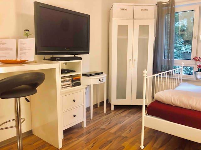 Cozy 1 room flat / Mainstation / Car rental