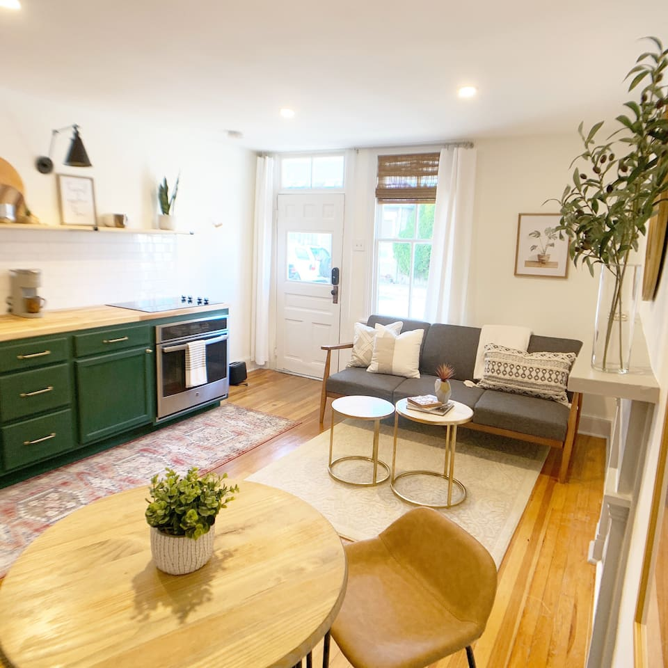Very comfortable and functional living and dining space