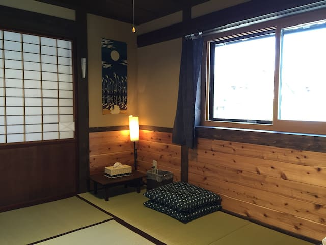 Yanagiya at castle town:private room A, 6 tatami