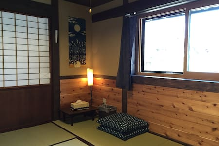 Yanagiya at castle town:private room, 6 tatami A - Ena - Hus