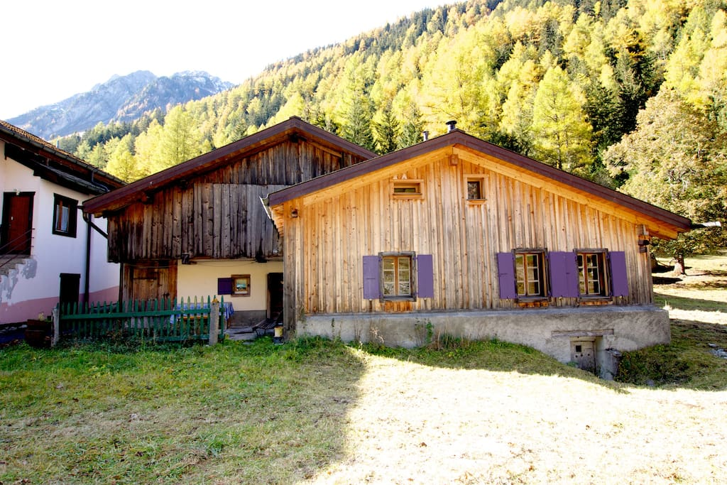 Our chalet in Autumn