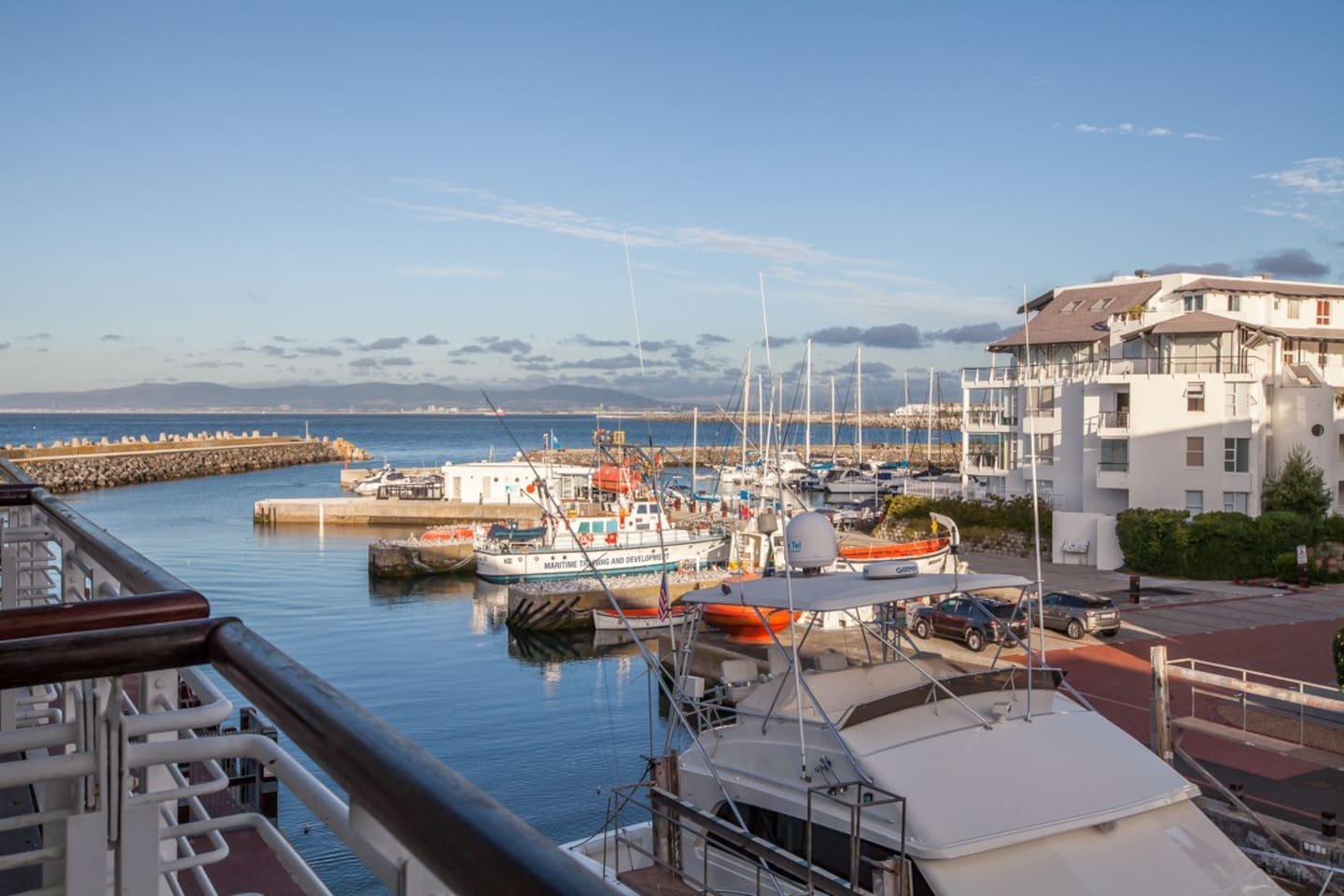 Beautiful view of the Granger Bay Harbour