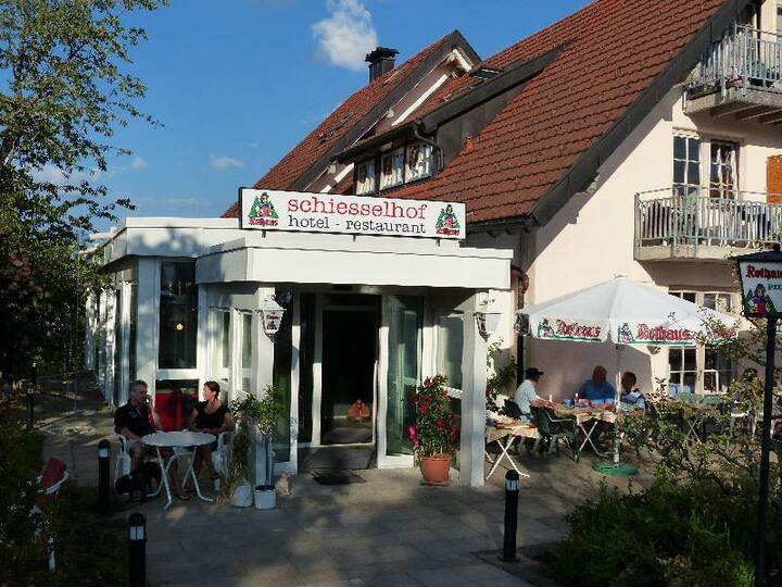 Ferien- & Wellnesshotel Schiesselhof, (Grafenhausen), Wohnappartment Superior, 85qm, max. 5 Personen