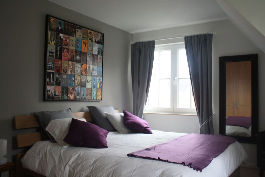 Chambre cosy la malmaisonnette chambres d 39 h tes for Chambre d hote belgique