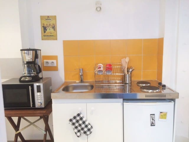 Cozy studio Krutenau 15min walk from the Cathedral - Estrasburg - Pis