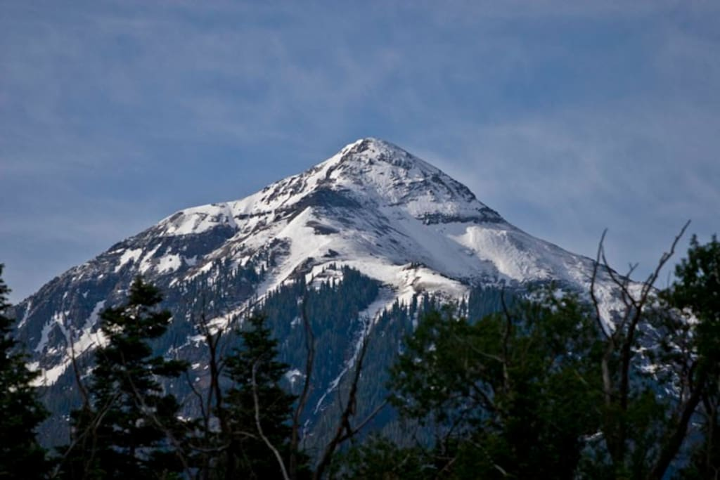 Mt. Abrams - taken from Ouray with 200mm Zoom