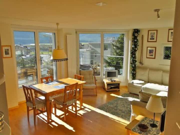 Lovely apartment in Samedan
