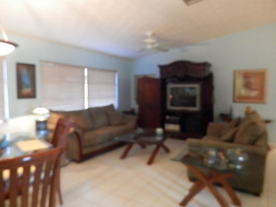 A second  view of the living room.