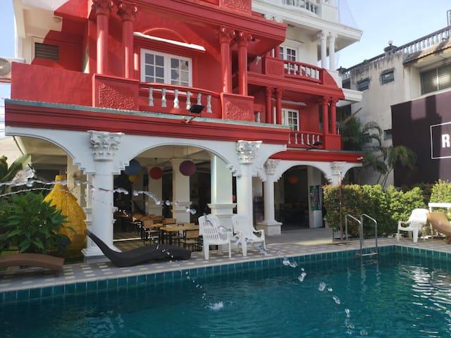 Old town Chiangmai DBL FN #free pool.
