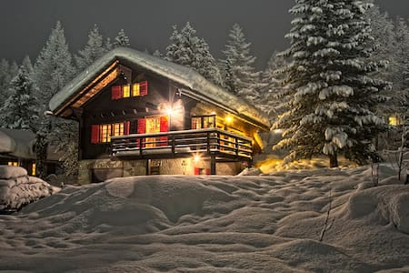 Authentic and cosy family chalet - Ayer