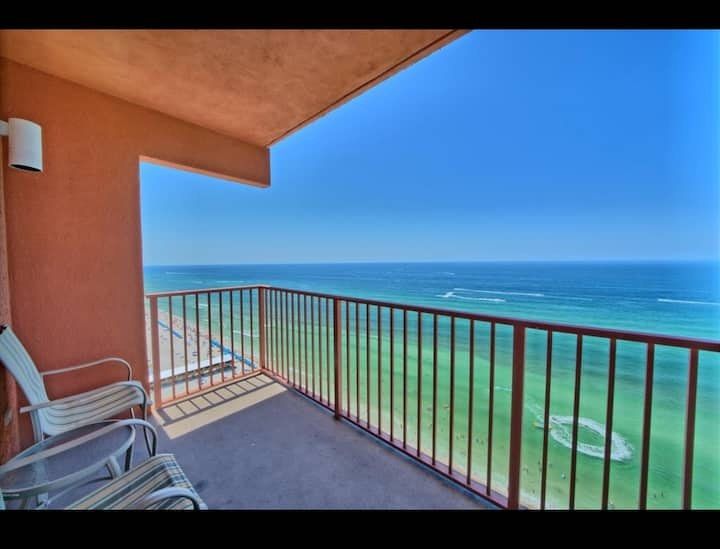 Shores of Panama PCB Direct view Gulf, Sleeps 6